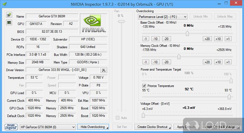 Скачать Программу Nvidia Inspector - фото 10
