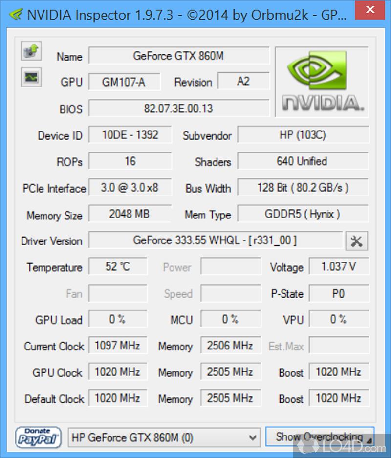 Скачать Программу Nvidia Inspector - фото 7