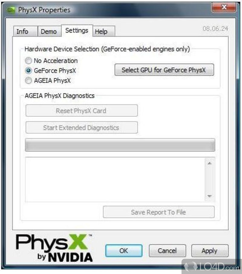 Download nvidia physx for windows 7 64 bit.