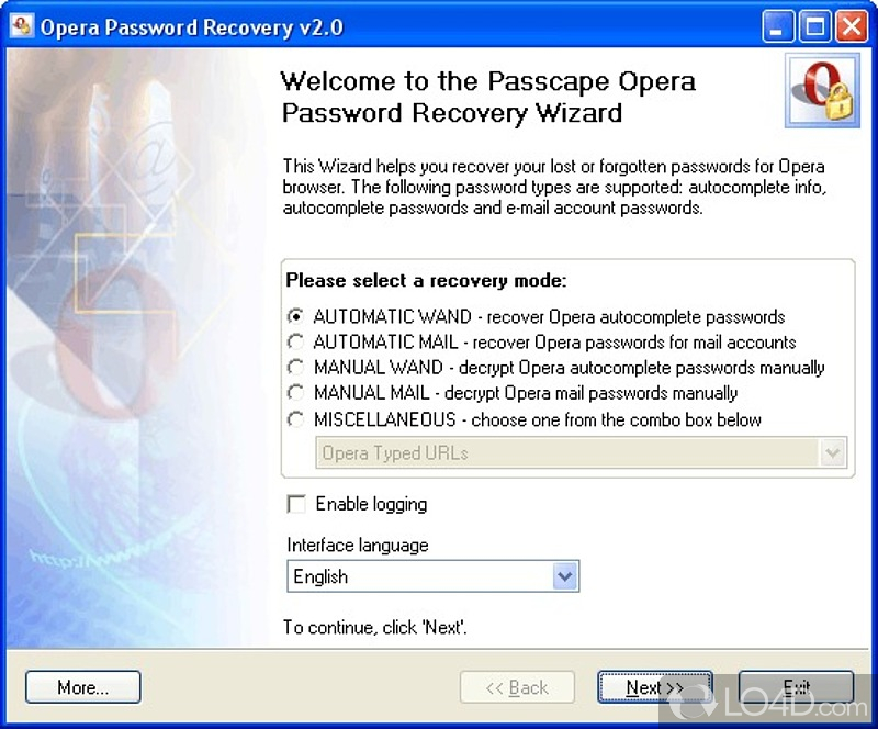Passcape Outlook Password Recovery 1.2 скачать бесплатно.