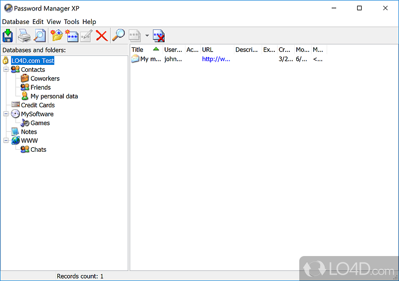 Password Manager Xp Download