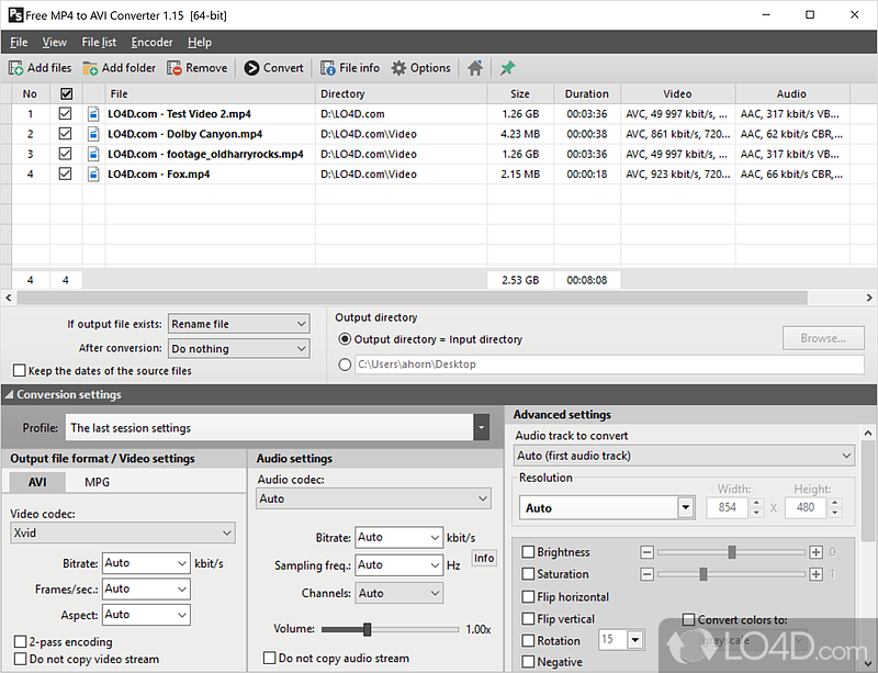 pazera free mp4 to avi converter 1.6
