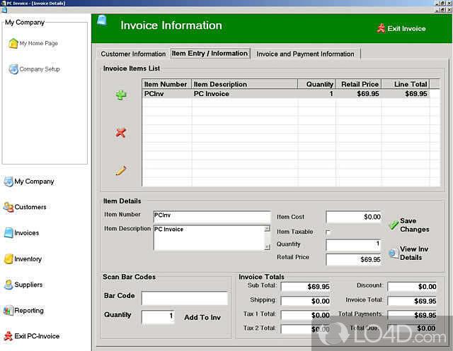PC Invoice Pro Download - Invoice software for pc