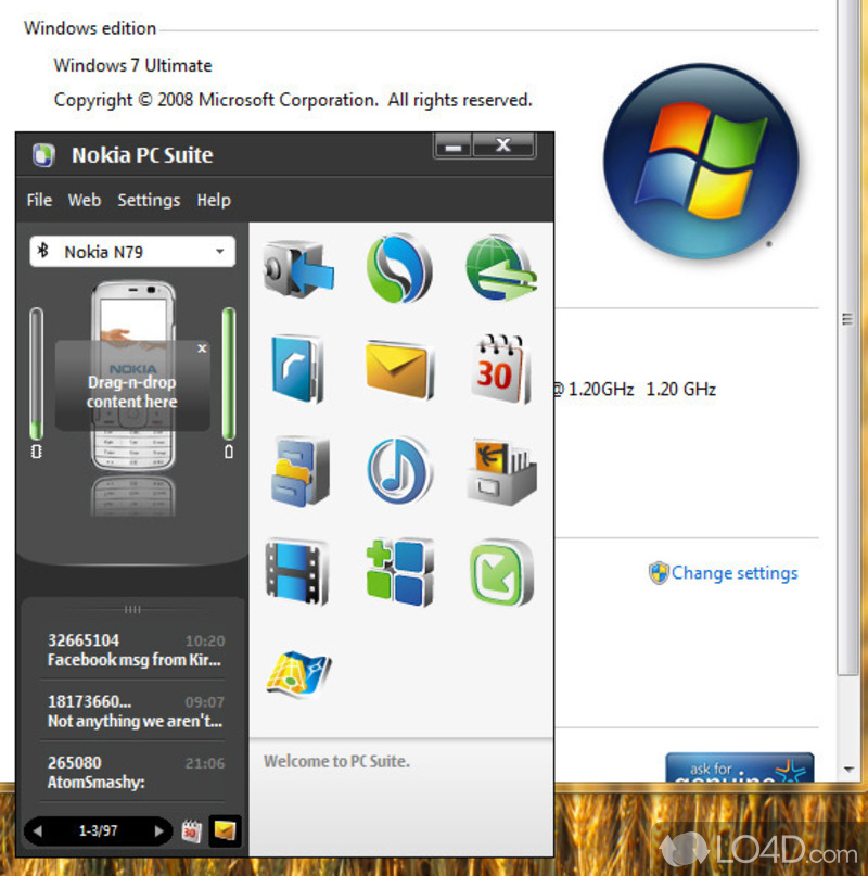 nokia software updater  for windows 7 32-bit key