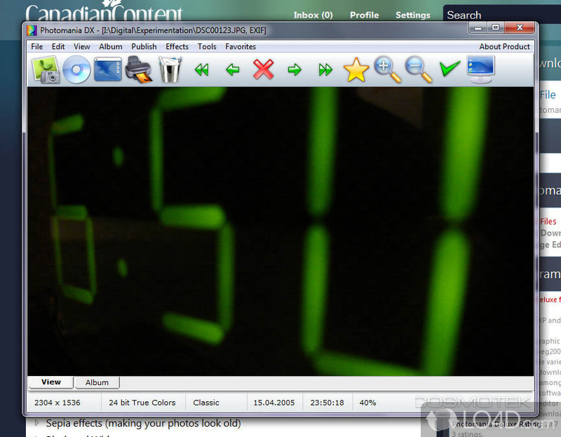 Photoimpression key generator