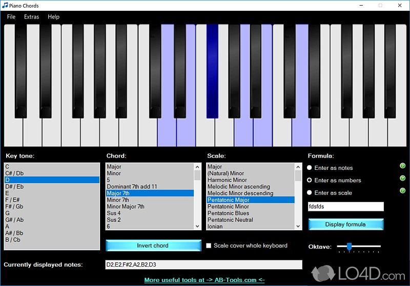 Piano Chords - Download