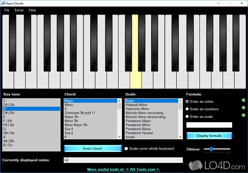 Piano Chords Screenshots