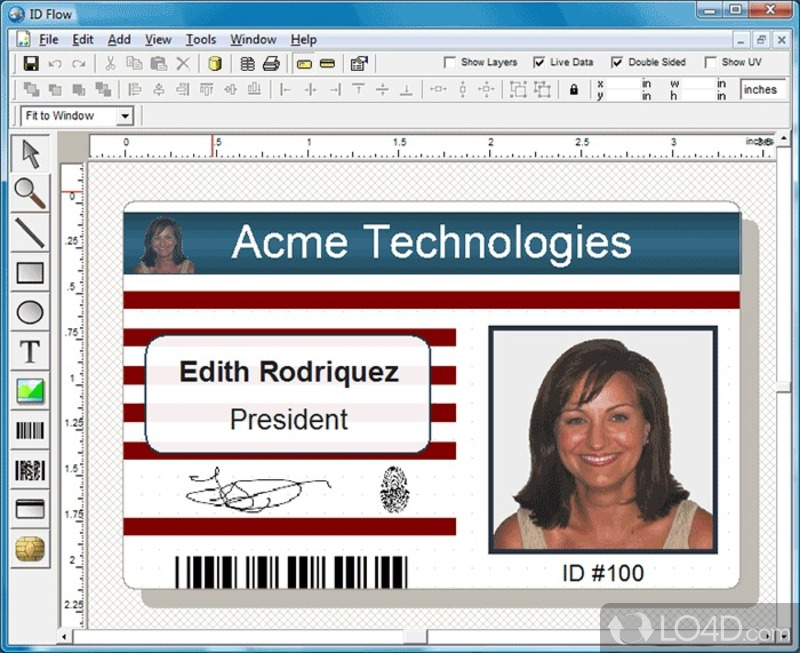 best id flow photo id card software free download image collection