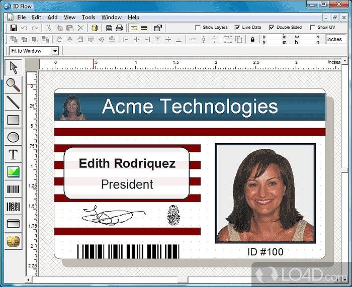 make an identification card