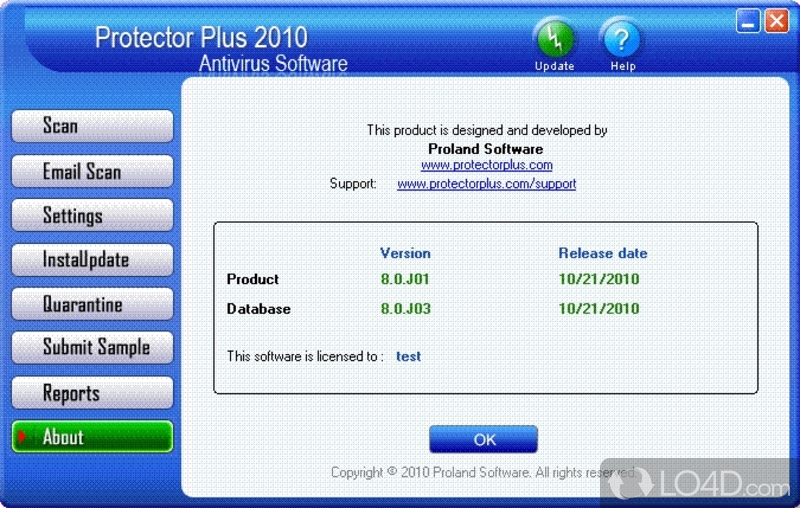 Protector Plus Antivirus Product Key
