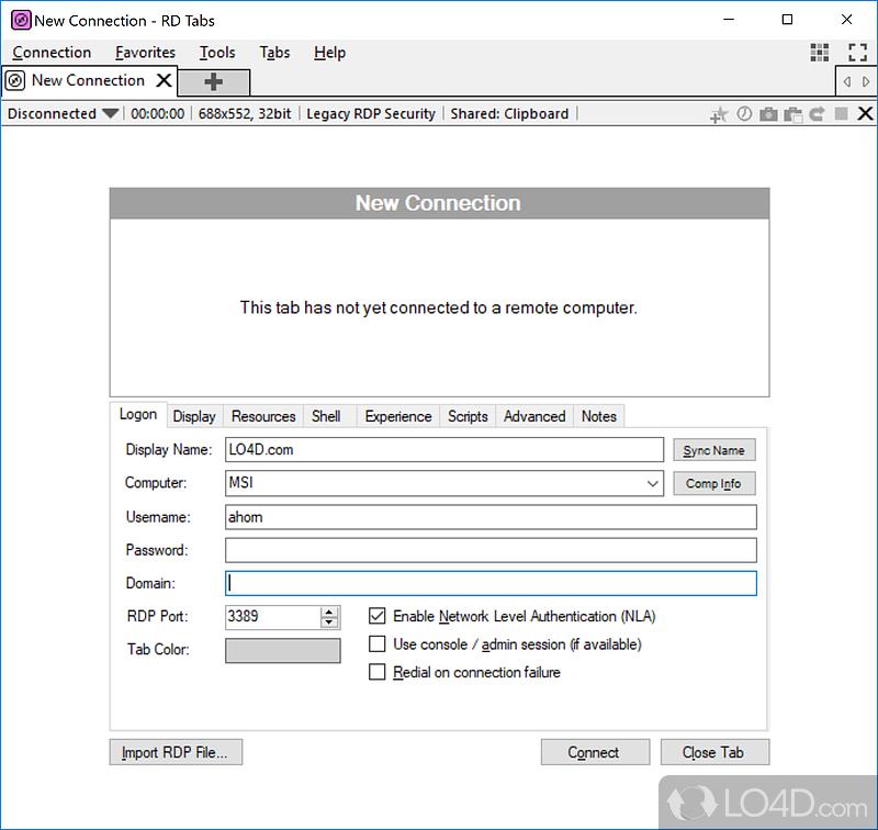 tabs download windows