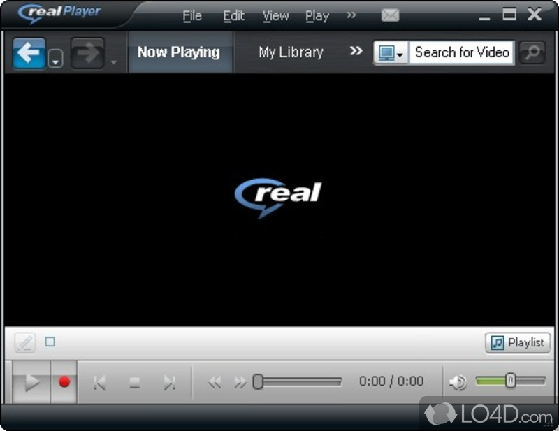 RealPlayer SP - Screenshot 1