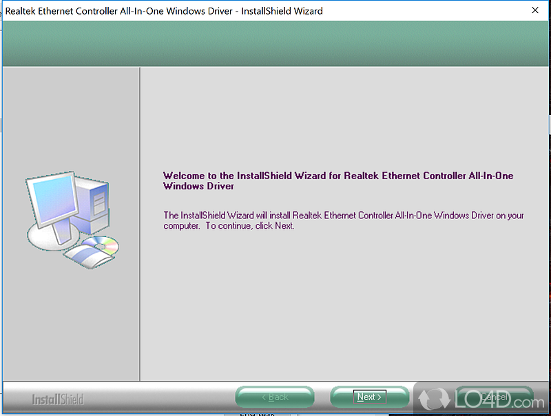 realtek ethernet controller all in one windows driver free download