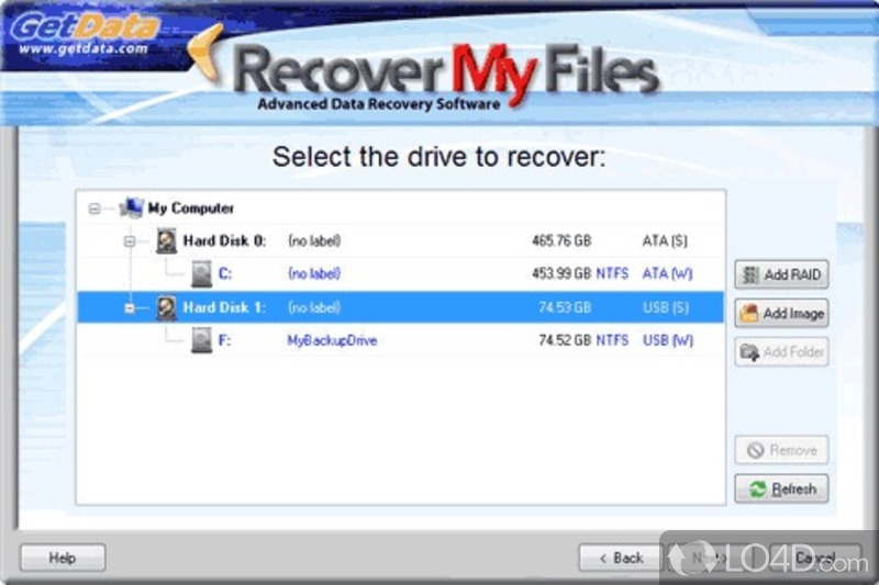 File Data Recovery Oh