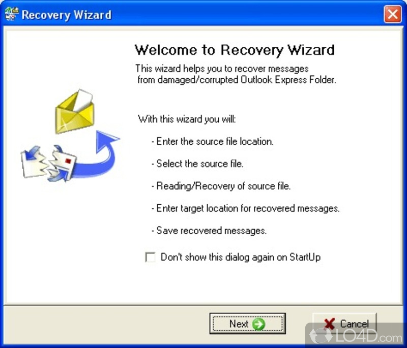 Images of Recovery Toolbox For Outlook Express.