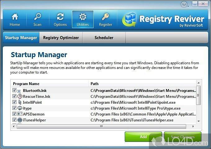 Registry reviver скачать бесплатно c ключом