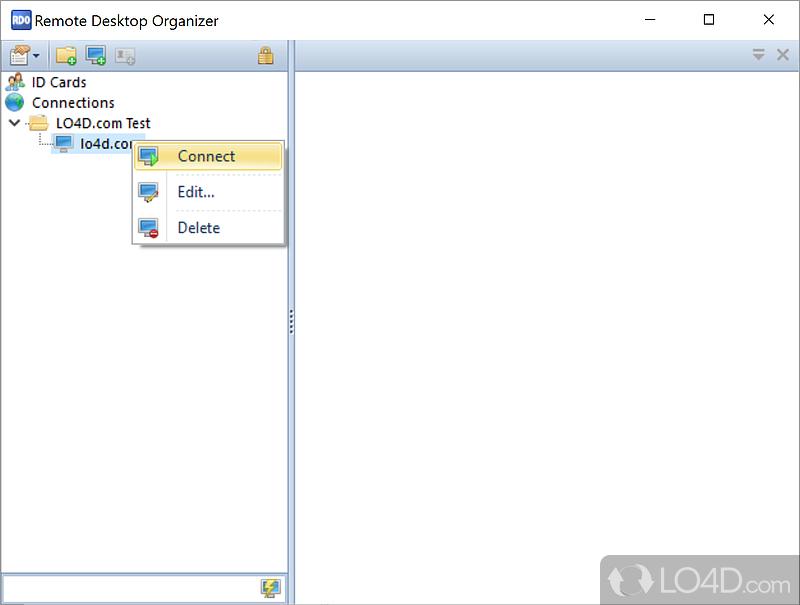 Remote Desktop Organizer Screenshot 1