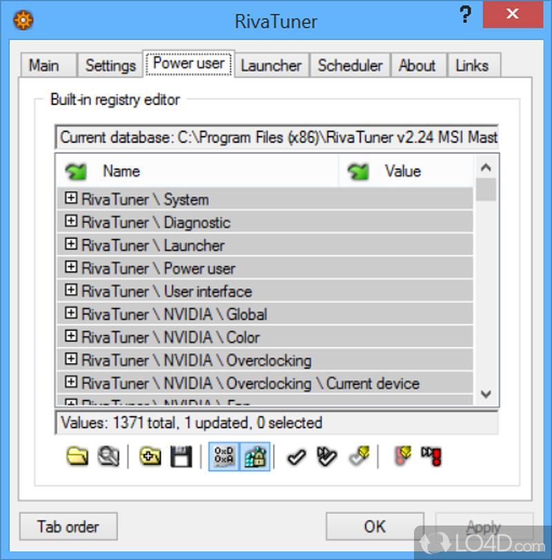 Rivatuner скачать на русском для Windows 8.1 - фото 5