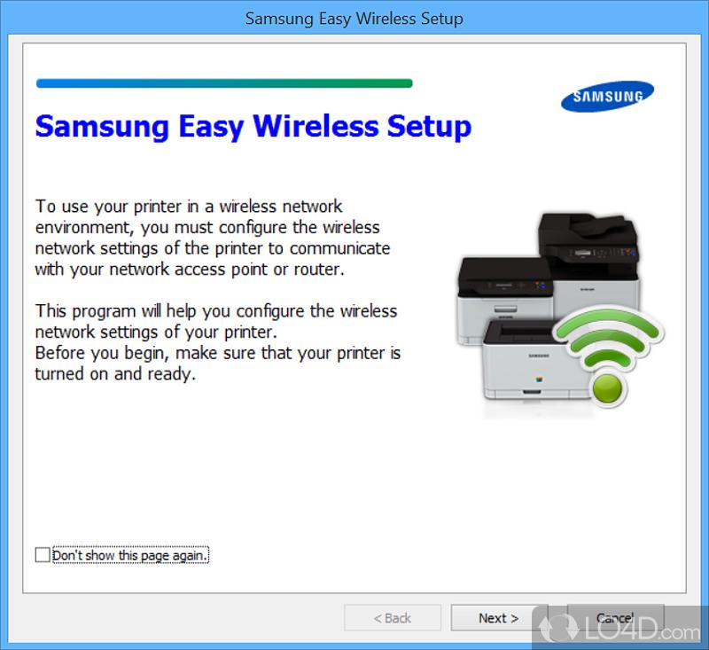 Samsung Easy Wireless Setup - Screenshots