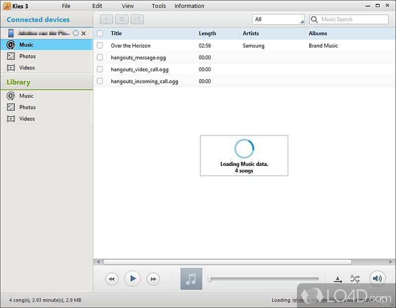 Samsung Kies 3.2.16044.2 una herramienta que le permite conectar el teléfono al ordenador y gestionar elSistemas operativos compatibles: Win7 x32, Windows 10, Windows 8, WinVista, WinXP, Win7  x64, Windows 10.Sistemas operativos Windows XP (32/64 bit) / Vista (32/64 bits)...