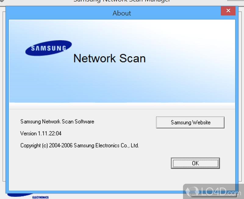 samsung network scan manager   screenshots