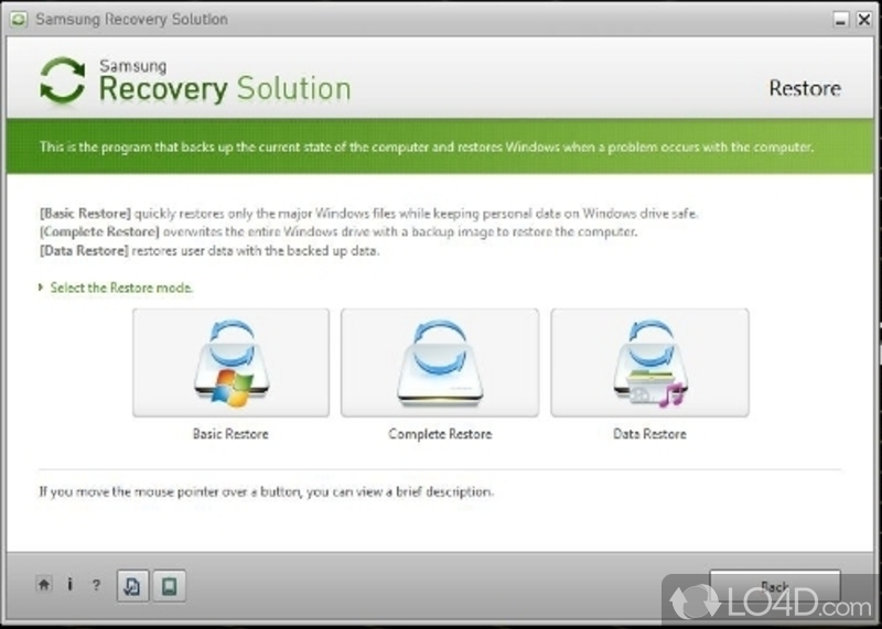 Samsung recovery solution 5 скачать