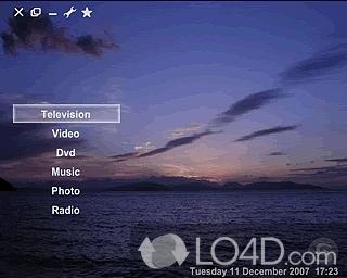 Screenshots of SesamTV Media Center.