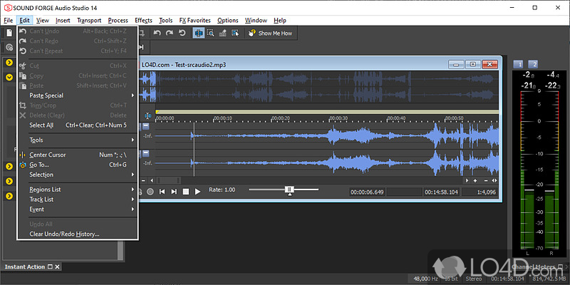 Sony sound forge audio studio 10.0 build 152.0.7