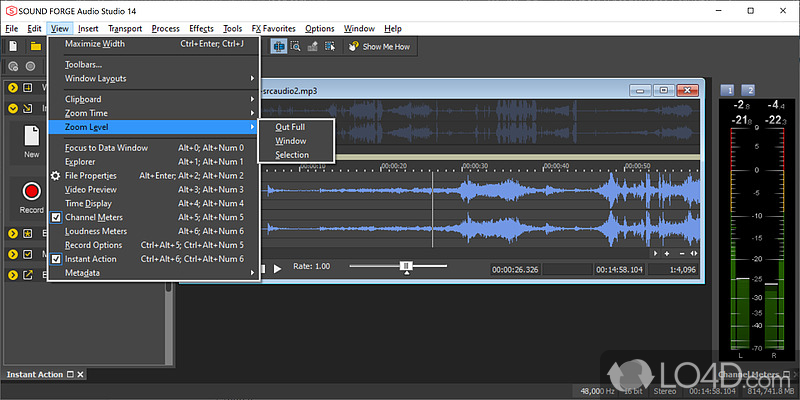 recording studio pro windows 10 how to create mp3 file