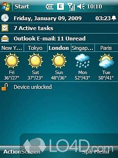 IPAQ Spb Weather Скриншоты.