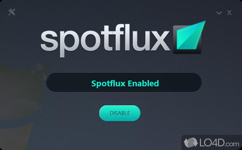free spotflux software for windows xp