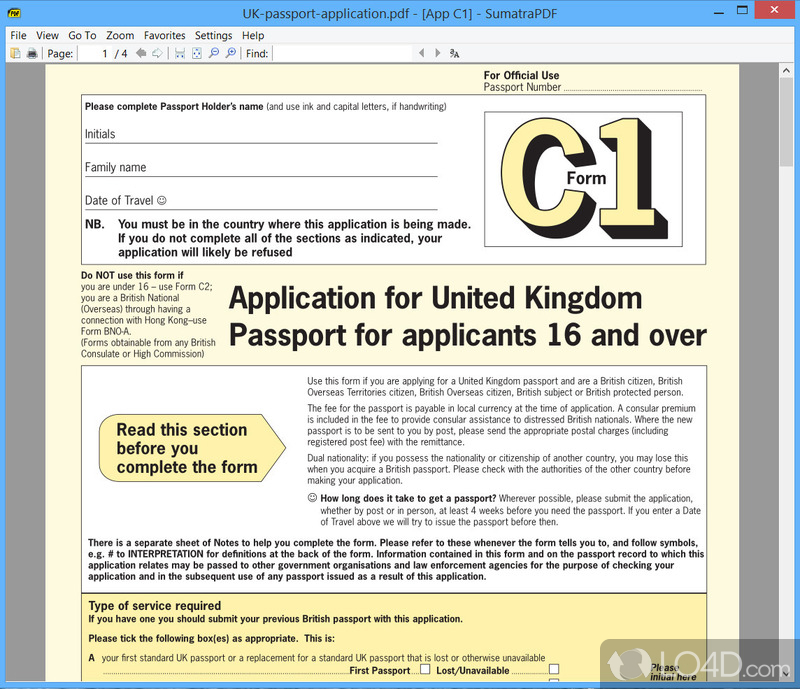 British Passport Application Form C2 Images Free Form Design Examples