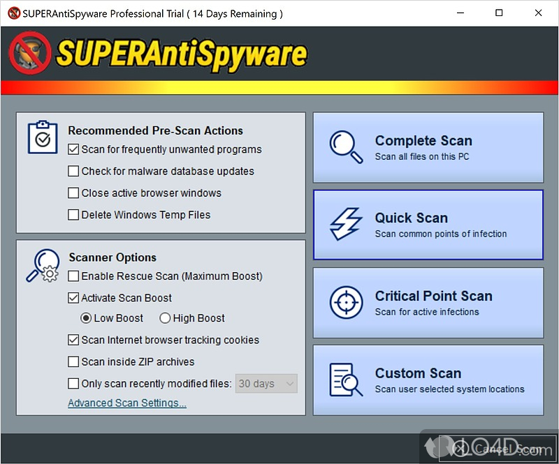 WatFile.com Download Free SUPERAntiSpyware Pro - Download