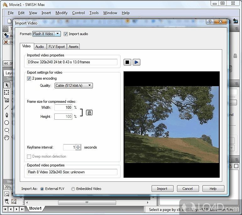 SwishMax 2.0 Build 2009.01.20 - Thiết kế Flash và Banner động cho