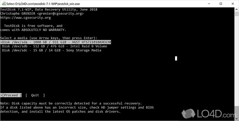 TestDisk 32-bit - Download