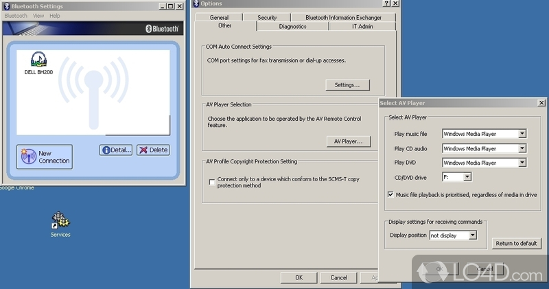 Toshiba Bluetooth Stack - 2