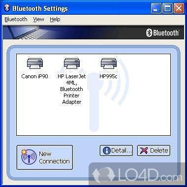 Toshiba Bluetooth Stack - 1