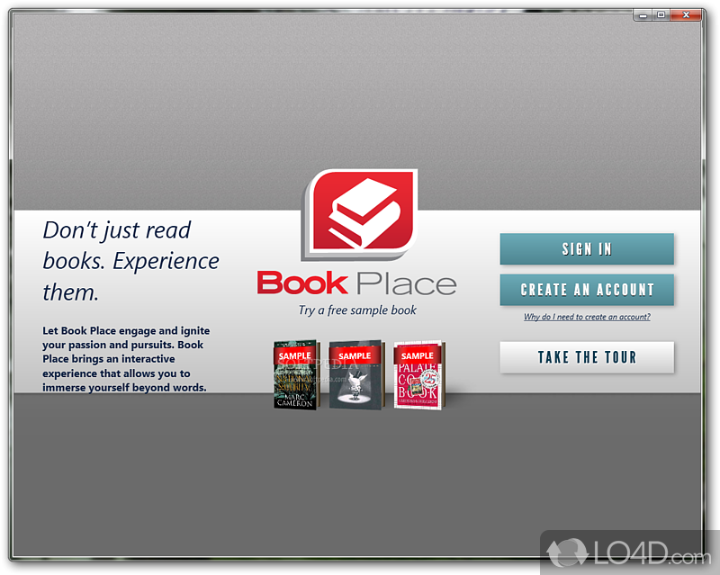 Toshiba Book Place - Download