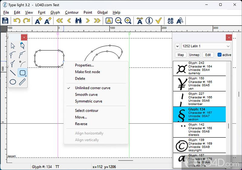 Type light (freeware)