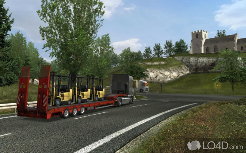 Uk truck simulator screenshot 2