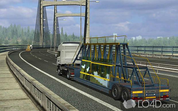 uk truck simulator screenshots. Black Bedroom Furniture Sets. Home Design Ideas