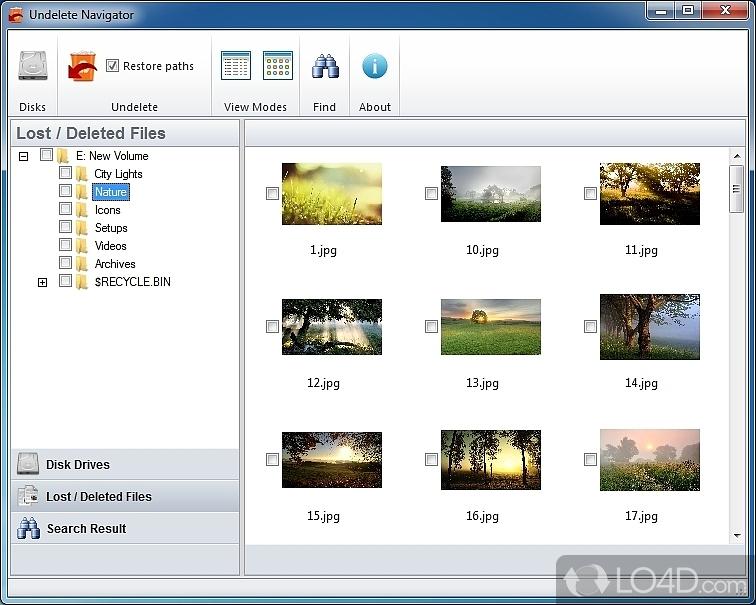 Recuperar archivos borrados por error de un disco, USB
