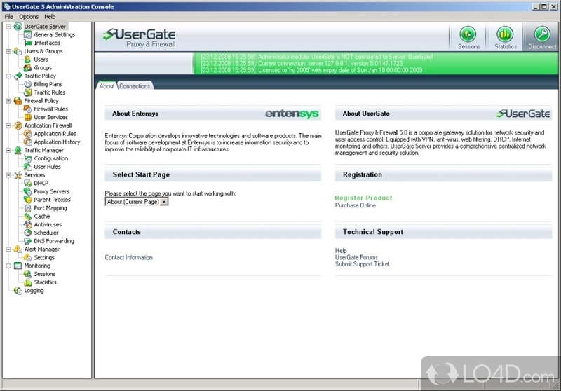 Usergate 5.4 Ключ