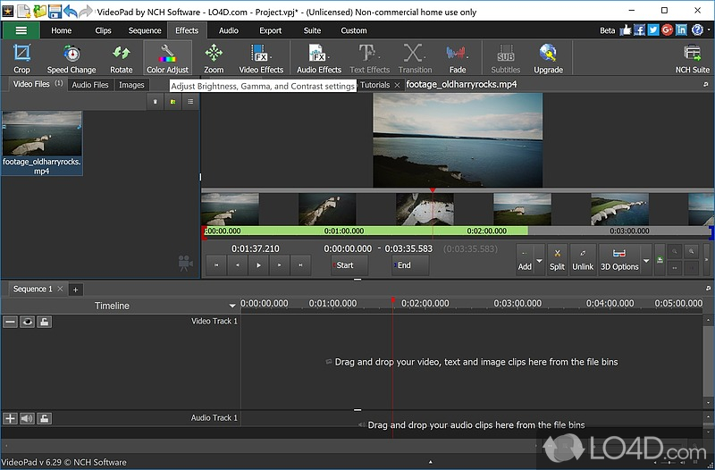 VideoPad Video Editor (Full Version) - 10