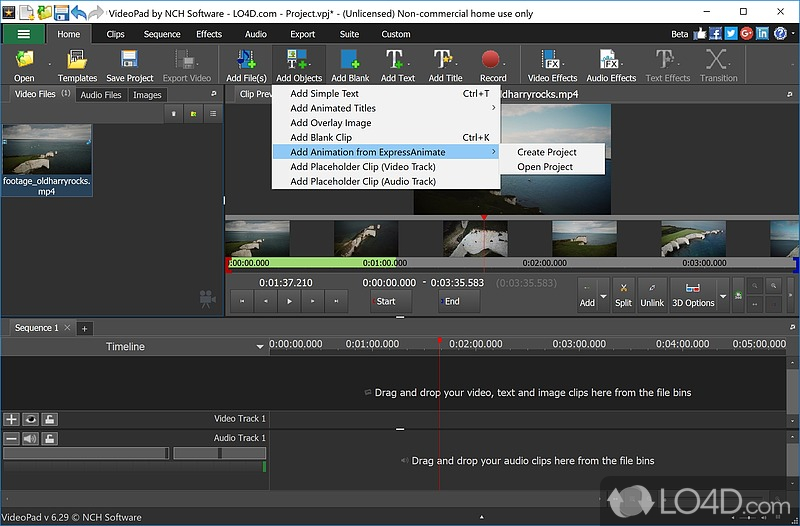 VideoPad Video Editor (Full Version) - 3