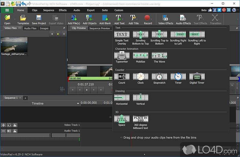 VideoPad Video Editor (Full Version) - 4