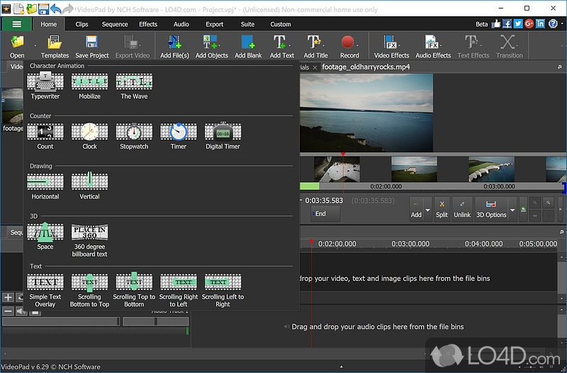 VideoPad Video Editor (Full Version) - 5