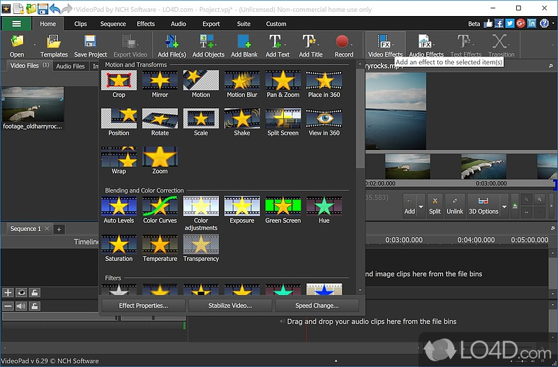 VideoPad Video Editor (Full Version) - 6