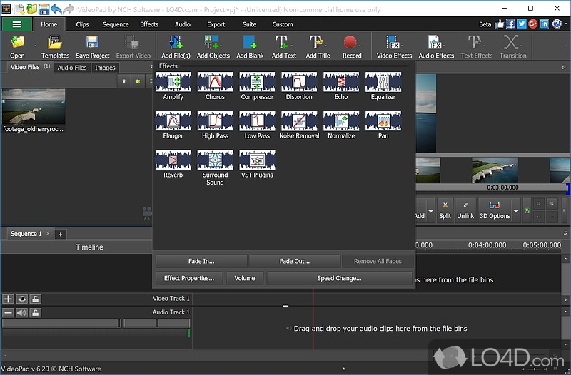 VideoPad Video Editor (Full Version) - 7