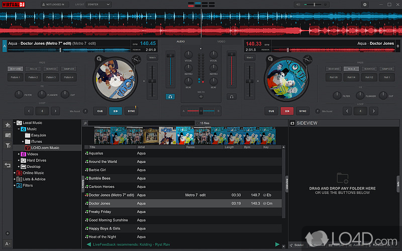 telecharger pack sample pour virtual dj